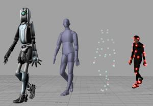 Producing a CGI character