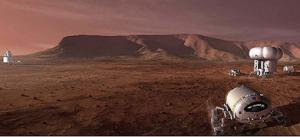 Concept design for Mars base